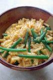 Macaronis et fromage Photographie stock libre de droits