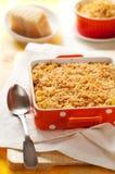 Macaronis et fromage cuits au four images libres de droits