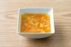 Macaronisoep Stock Afbeelding
