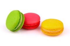 Macarons曲奇饼 图库摄影