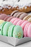 Macarons Photographie stock