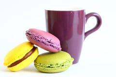 Macarons Imagem de Stock