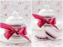 Macarons Royalty-vrije Stock Afbeeldingen