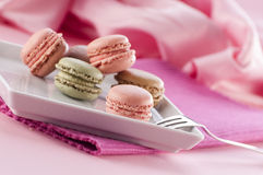Macarons Fotografía de archivo libre de regalías