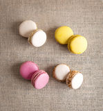 Macarons Obrazy Royalty Free