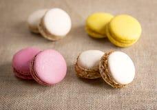 Macarons Foto de archivo libre de regalías