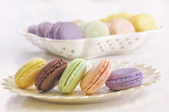 Macarons Fotos de Stock Royalty Free