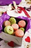 Macarons Stockfoto