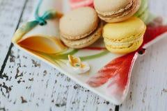 Macarons Images libres de droits