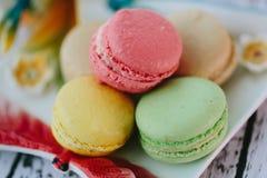 Macarons Photographie stock libre de droits