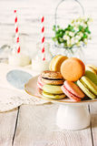 Macarons Photo libre de droits
