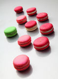 Macarons Arkivbild