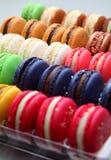 Macarons Arkivfoto