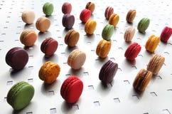 Macarons Arkivbilder