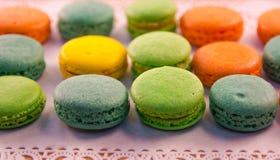 Macarons Stock Afbeelding