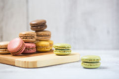 Macarons Photos stock