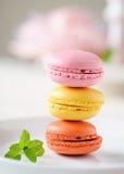 Macarons fotografie stock libere da diritti
