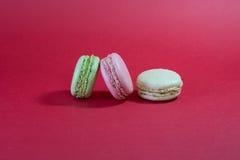 三macarons 图库摄影