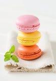 Macarons 免版税库存照片