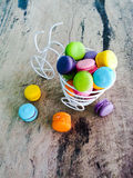 Macarons Fotografia de Stock Royalty Free