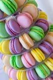 Macarons Photos libres de droits