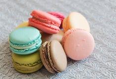 Macarons Zdjęcie Stock