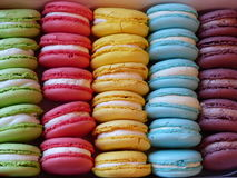 Macarons Royalty-vrije Stock Foto
