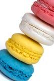 Macarons alto Immagini Stock