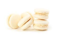 Macarons beige Fotografía de archivo