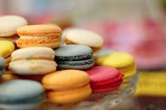 Macarons coloré Photo stock