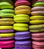Macarons coloré Images libres de droits