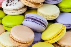 Macarons colorido foto de stock royalty free