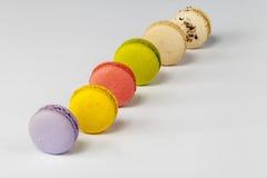 Macarons colorido imagem de stock