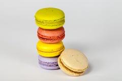 Macarons colorido Fotografía de archivo libre de regalías