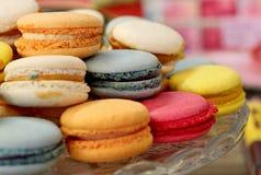 Macarons colorido Imagem de Stock Royalty Free