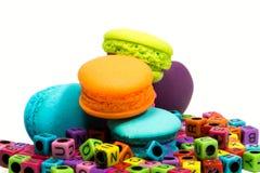 Macarons colorido Foto de Stock