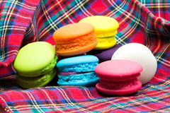 Macarons colorido Fotos de Stock