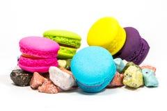 Macarons colorido Imagens de Stock Royalty Free