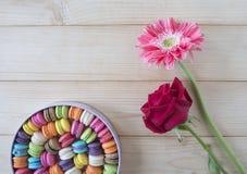 Macarons coloridos 22 Imagenes de archivo