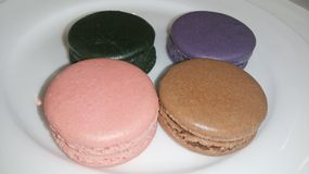 Macarons Colourful Immagine Stock Libera da Diritti