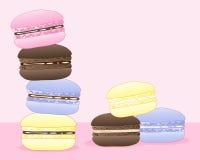 Macarons d'été illustration stock