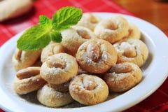 Macarons d'amande Image stock