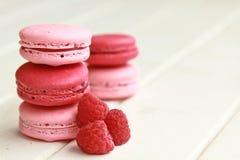 Macarons da baga Fotografia de Stock Royalty Free