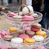 Macarons da cor Foto de Stock