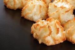Macarons de noix de coco Photos libres de droits