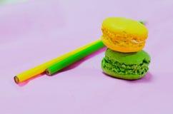 Macarons de ressort Photo libre de droits