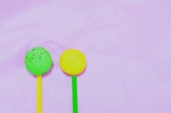 Macarons de ressort Image libre de droits