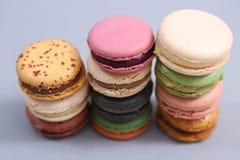 Macarons deliciosos Foto de archivo libre de regalías