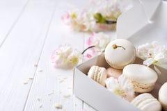 Macarons doux de provans photos libres de droits