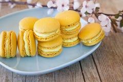 Macarons dulce foto de archivo libre de regalías